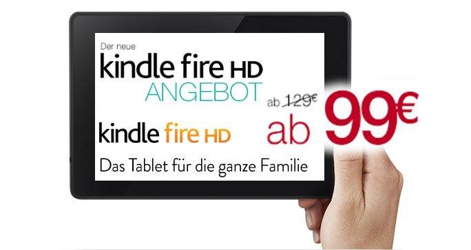 Kindle billiger: der neue Kindle Fire HD für 99 Euro! 7
