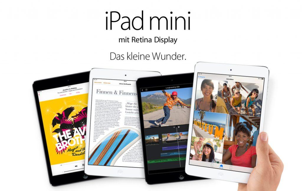 lieferzeiten ipad mini 2 mit retina display bei apple. Black Bedroom Furniture Sets. Home Design Ideas