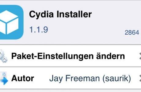 Cydia 1.1.9 Update für iOS 7 7