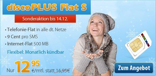 Allnet-Flat Sonderangebot 12,95€ mit Telefon-Flat & 500 MB Internet 2