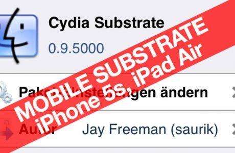 iPhone 5s Jailbreak: iOS 7 MobileSubstrate für iPhone 5s, iPad Air, Retina iPad Mini ist da! 6