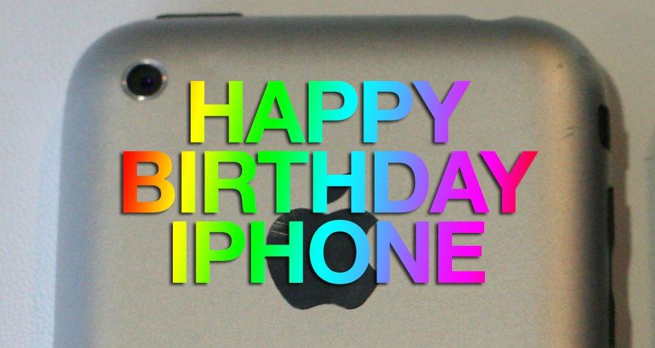 Pure Magie: Happy Birthday iPhone! 1