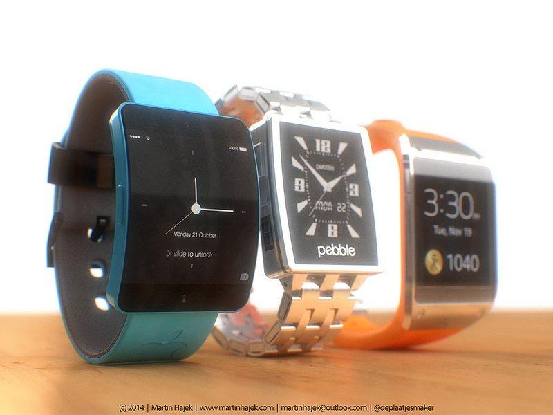 Smartwatch Wars: Apple iWatch vs. Pebble Steel vs. Samsung Galaxy Gear  1