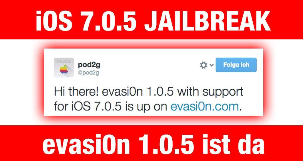 evasi0n 1.0.5: iOS 7.0.5 Jailbreak ist möglich! 1