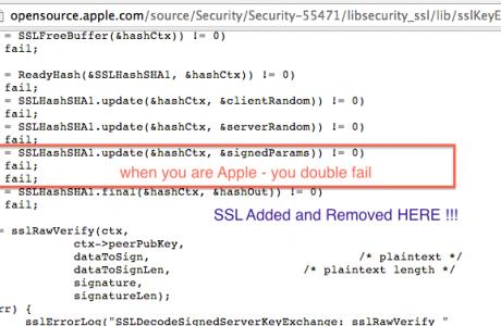 Alptraum: Schwere Apple SSL Sicherheitslücke in iOS 7 & Mac OS X!  10