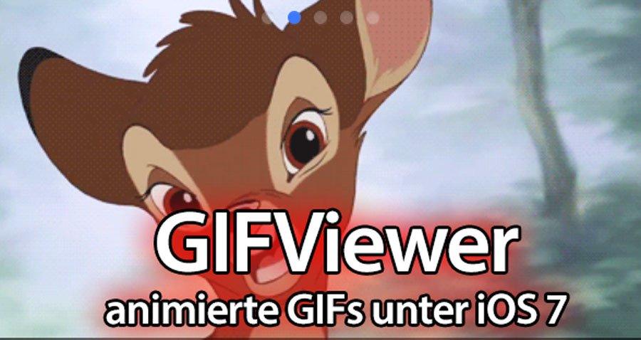 GIFViewer: GIFs im Fotoalbum für iOS 7 & iPhone 5s  8