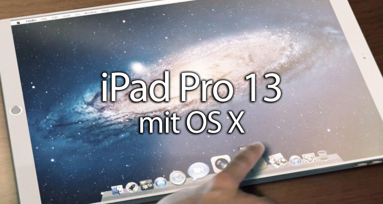 Ipad Pro Ipad Mit Os X Oder Macbook Mit Ios 9