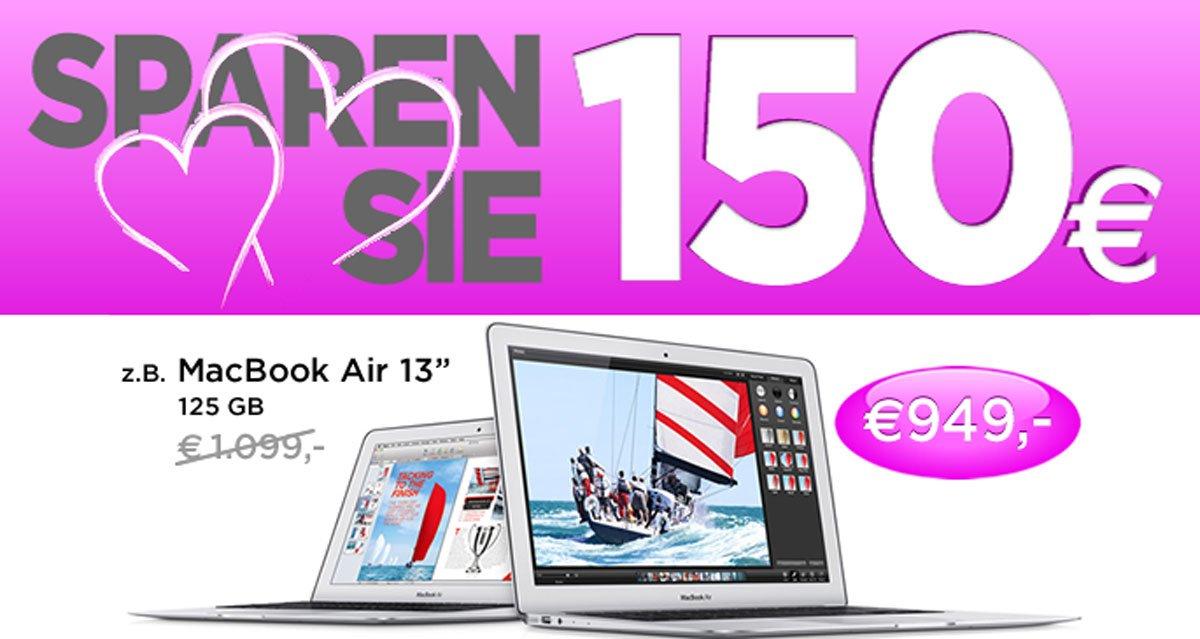 Macbook & iMac 150 Euro billiger: Schenk Dir einen Mac zum Valentinstag! 5