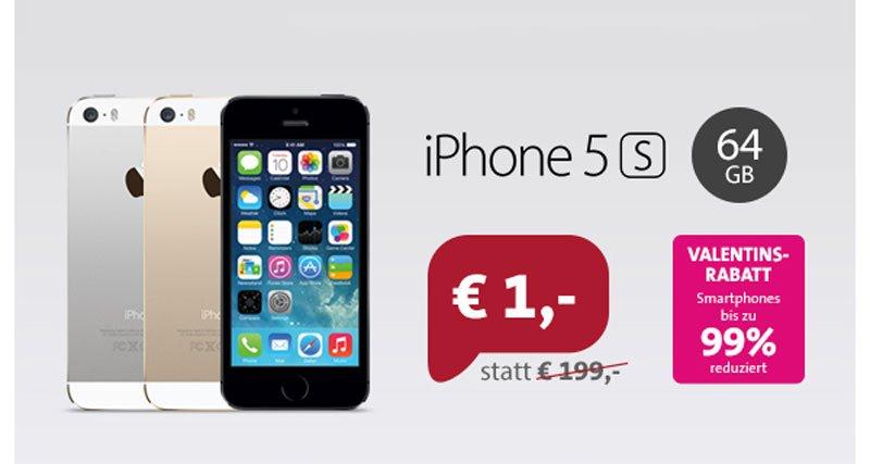 apple iphone 5s rabatt