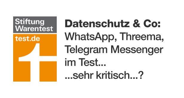 whatsapp threema telegram im test von stiftung. Black Bedroom Furniture Sets. Home Design Ideas