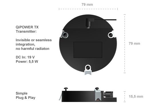 Qipower Unsichtbares Qi Wireless Charging Fur Schreibtisch Mobel