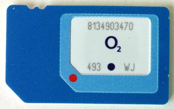 O2 3-in-1 Triple-SIM: Nano, Micro & Mini-SIM 2