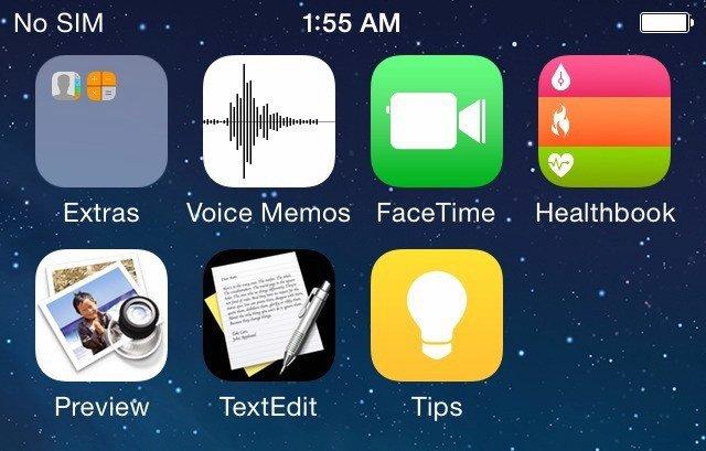 iOS 8 Screenshots & Apps: iOS 8 Healthbook, Vorschau, TextEdit - kein iTunes Radio? 1