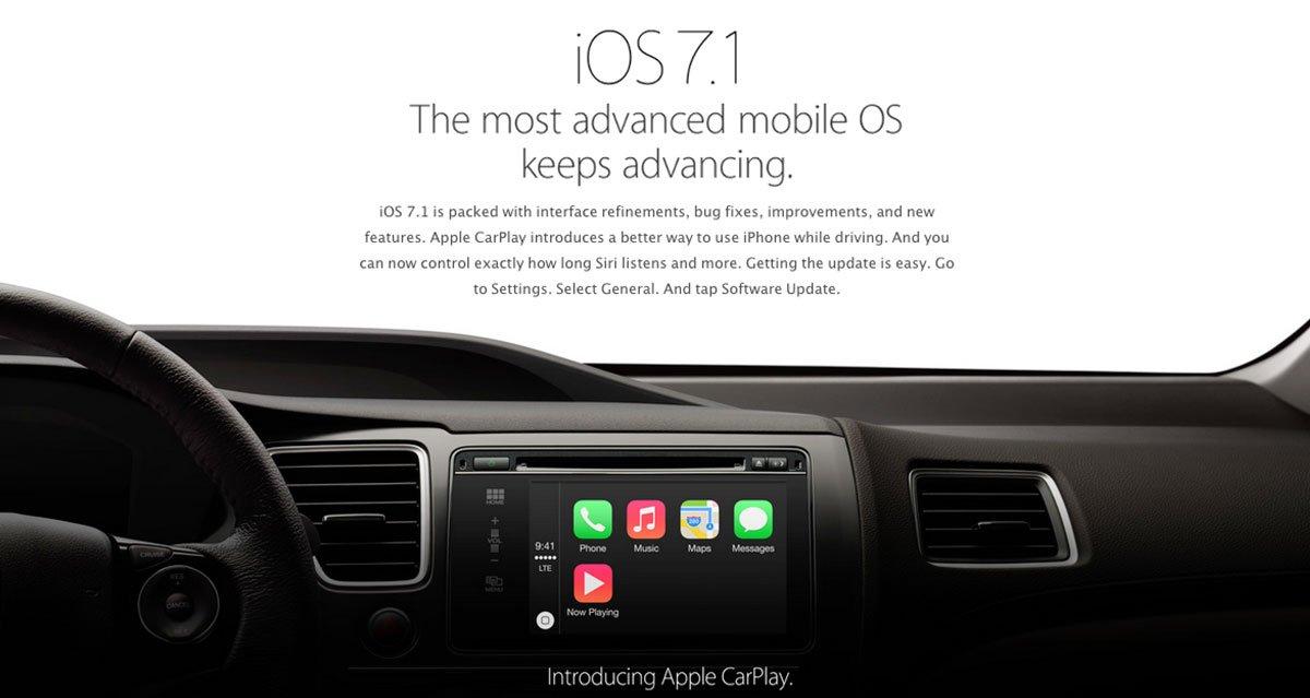 Apple iOS 7.1 Sonderseite & iOS 7.1 Video Überblick 9