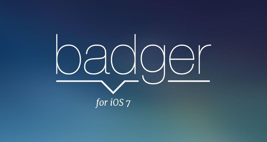 Badger für iOS 7: Notifications im Springboard 9
