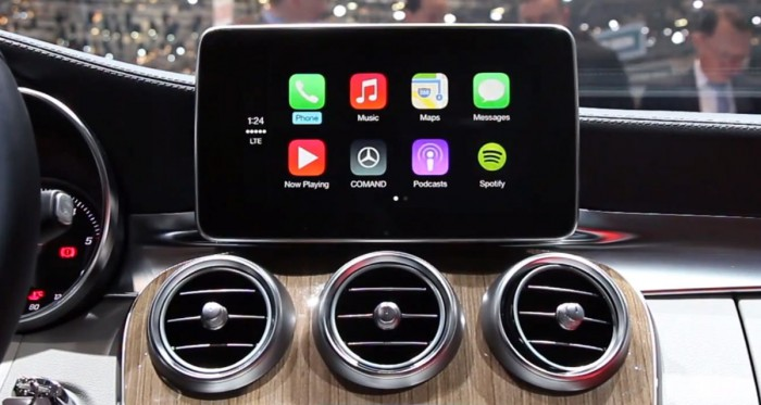 apple carplay mercedes benz stellt 2016er lineup vor. Black Bedroom Furniture Sets. Home Design Ideas