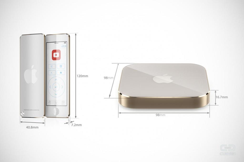 apple tv touch sieht so das neue appletv 4 aus. Black Bedroom Furniture Sets. Home Design Ideas