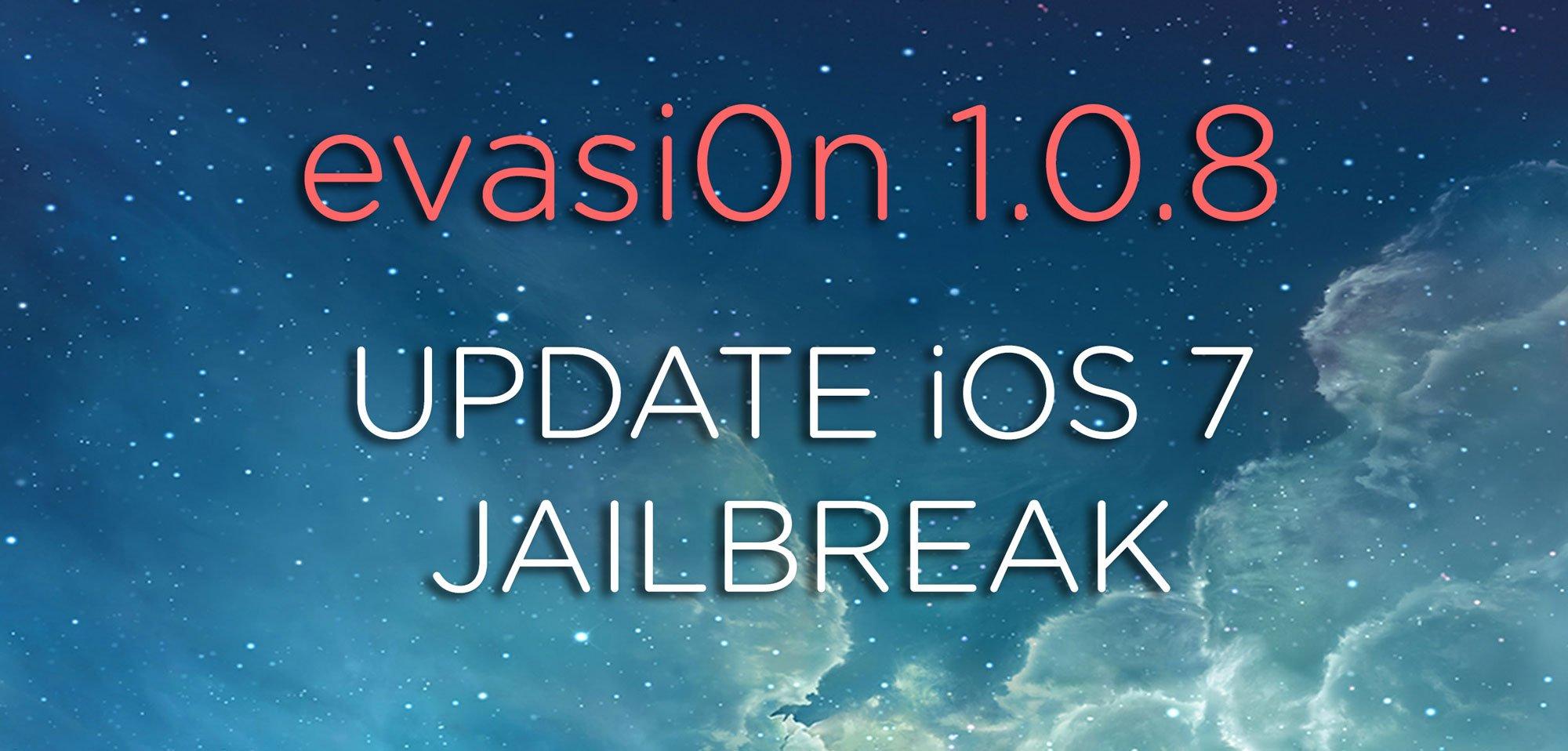 iOS 7 Jailbreak Update: evasi0n 1.0.8 Download verfügbar! 3