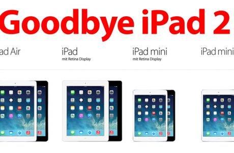 Goodbye iPad 2: iPad 4 neues Einsteiger-Modell 6