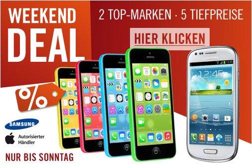 iPhone 5s & iPhone 5c billiger! 6