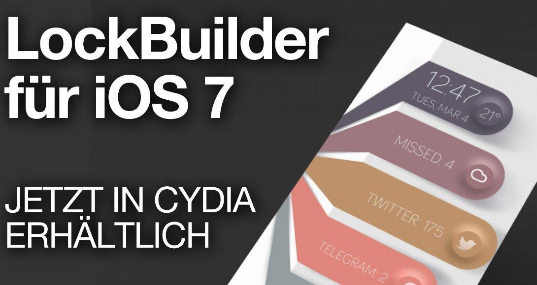 LockBuilder für iOS 7 Download in Cydia + viele iPhone Lockscreen Themes 13