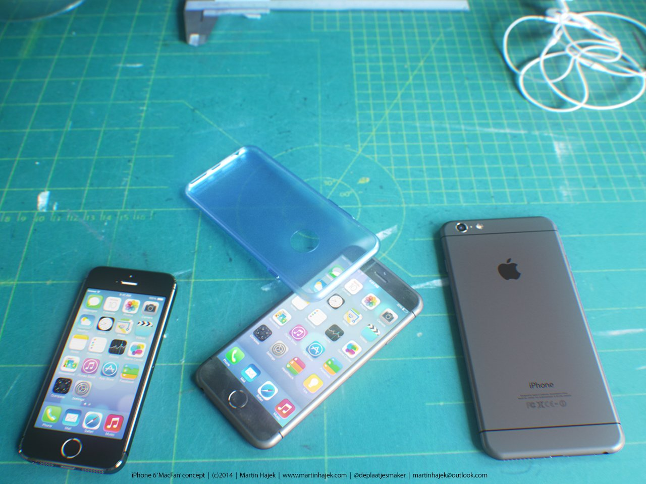 Wunderschön: iPhone 6 mit Hülle 11