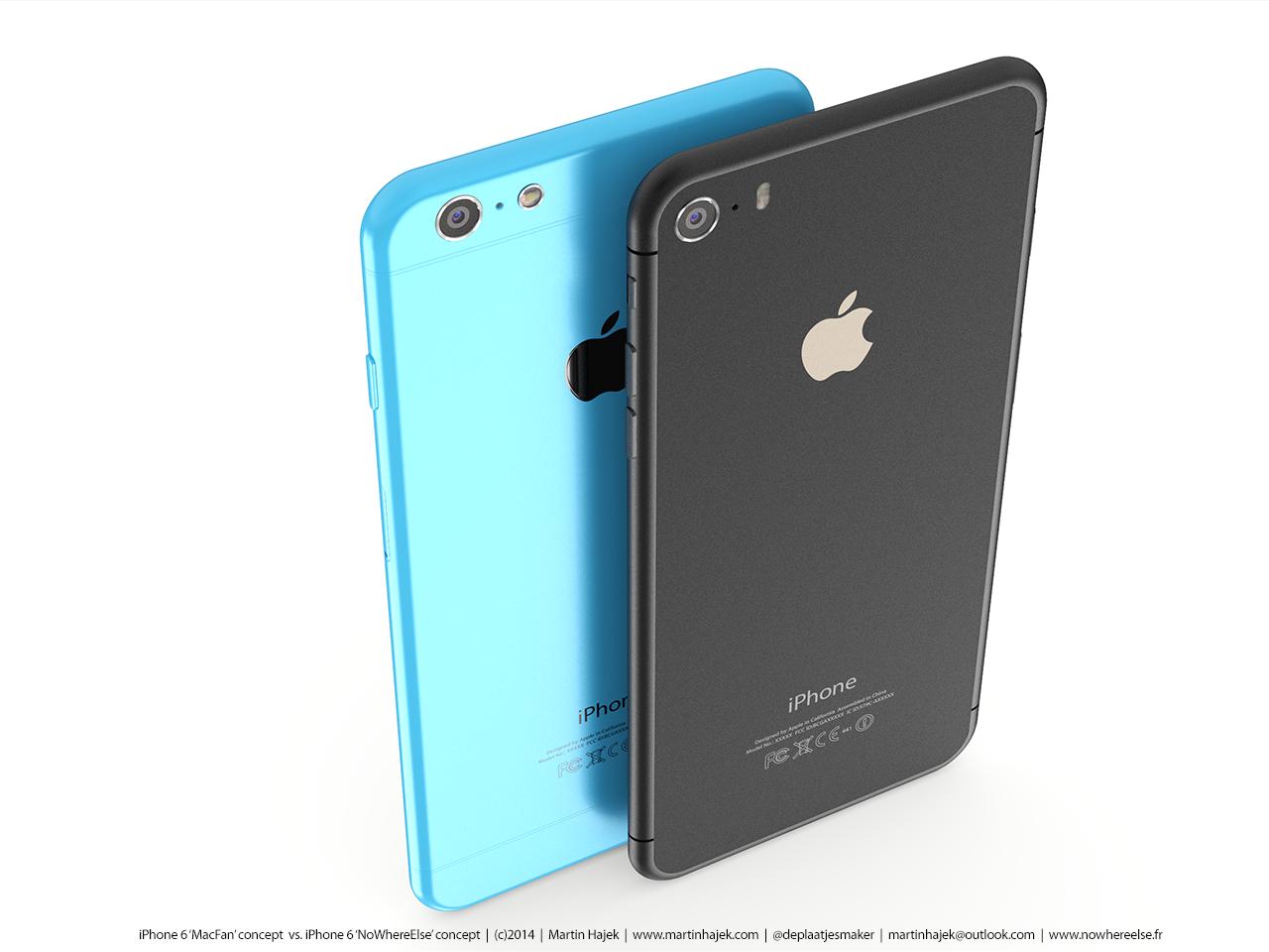 iPhone 2014 Konzept-Vergleich: iPhone 6s gegen iPhone 6c 1