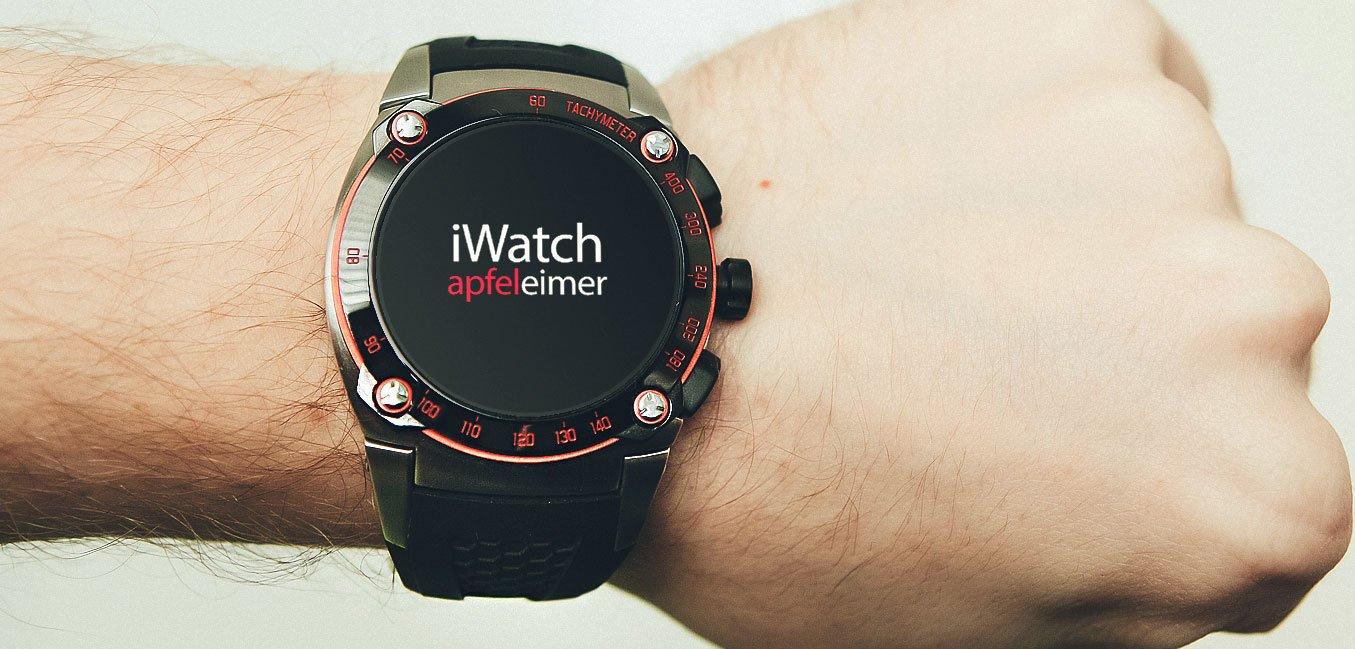 iWatch im September, erste Bauteile der Apple Uhr