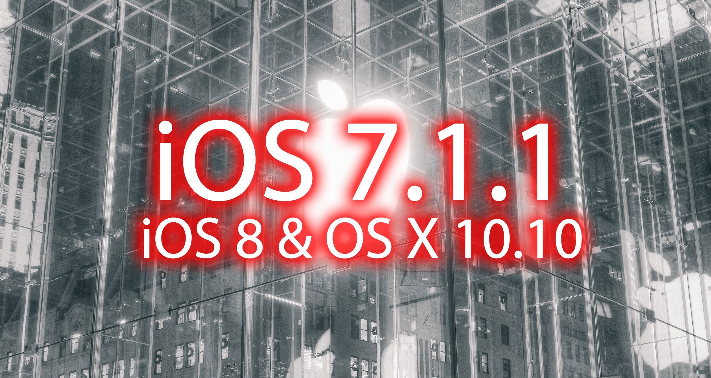 Ios 7 1 1 update kommt ios 8 os x im test for Cortinas 10 x 10