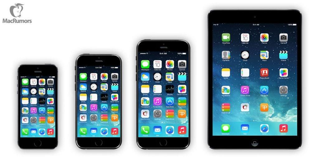 iphone 6 neue bilder renderings iphone 6 gr en im vergleich. Black Bedroom Furniture Sets. Home Design Ideas