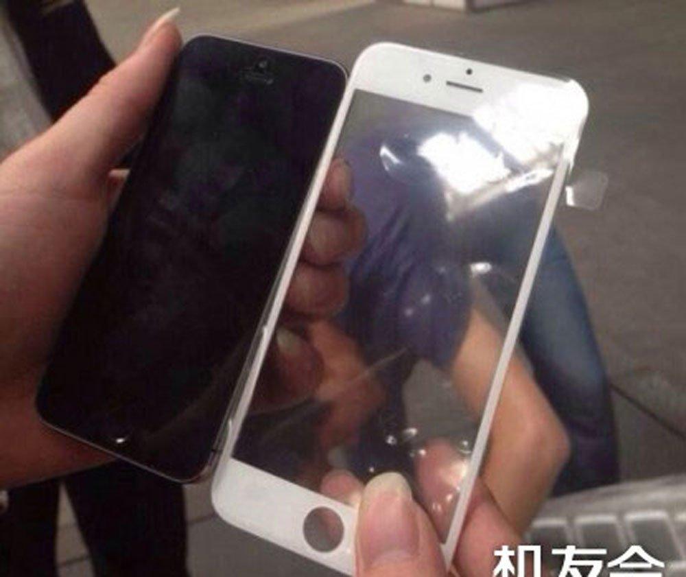 Riesig: iPhone 6 Front aufgetaucht 12