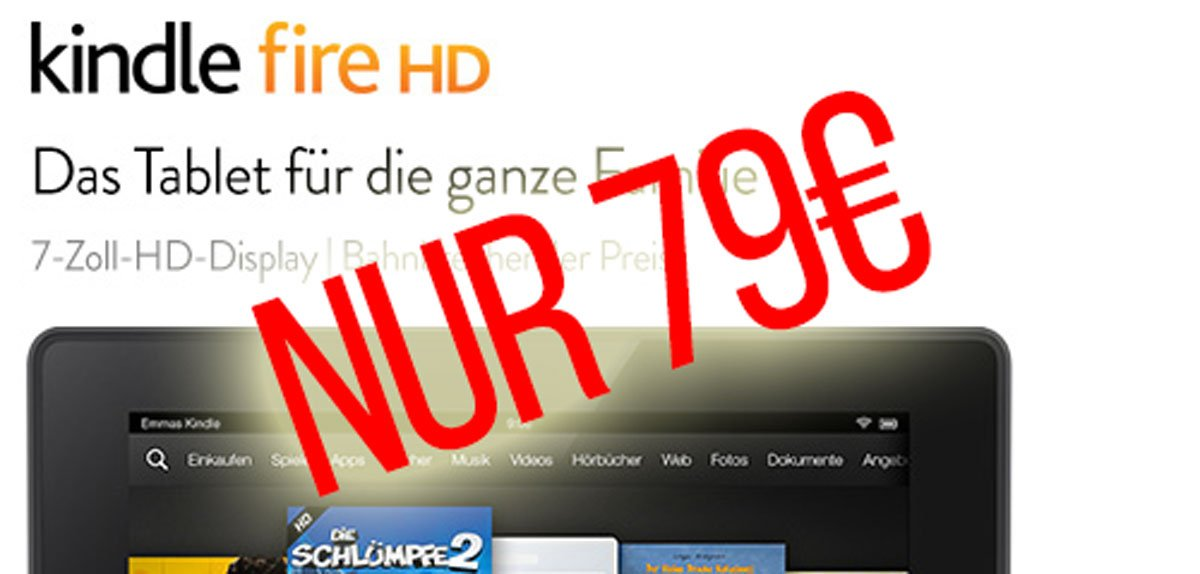 Kindle Fire HD billiger 1