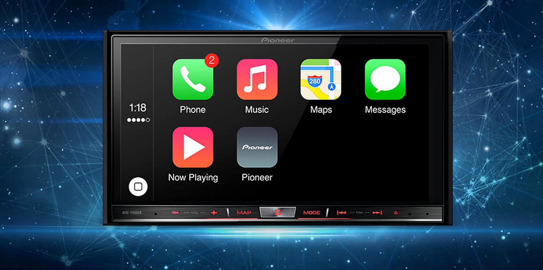 apple carplay pioneer mit autoradio updates. Black Bedroom Furniture Sets. Home Design Ideas