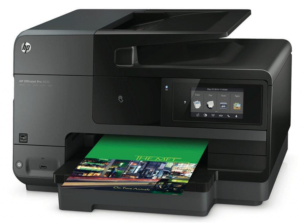 hp officejet pro 8620 im test drucker scanner fax kopierer f r b ro zuhause. Black Bedroom Furniture Sets. Home Design Ideas