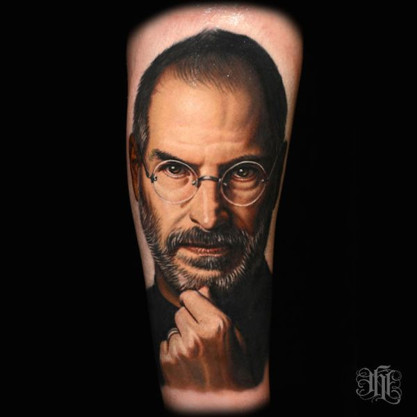 tattoo steve jobs apple