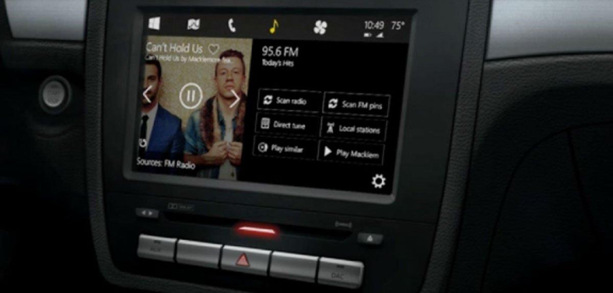 Microsoft CarPlay: Windows in the Car im Video 1