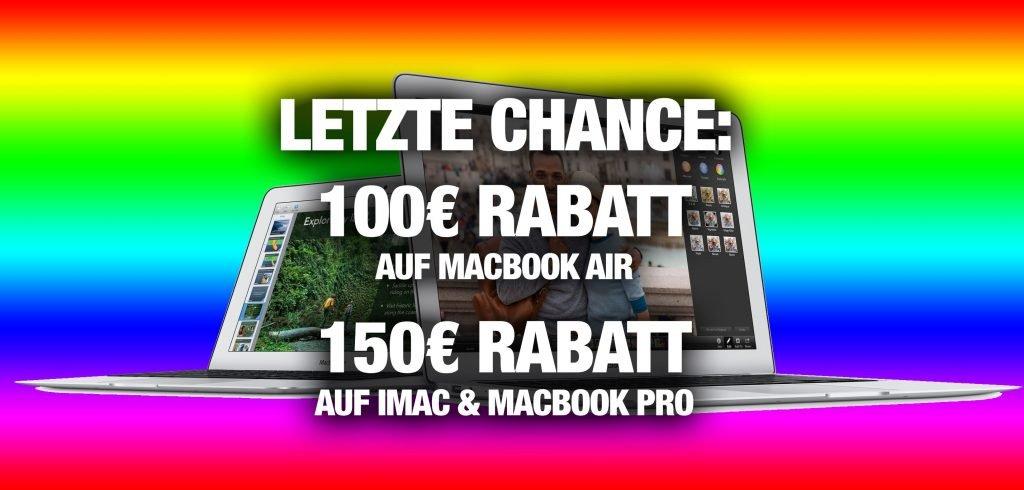 macbook air macbook pro imac billiger kaufen mit gutschein. Black Bedroom Furniture Sets. Home Design Ideas