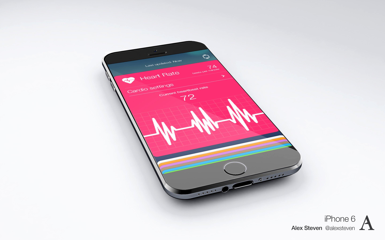 Vorschau auf iOS 8 Healthbook 1
