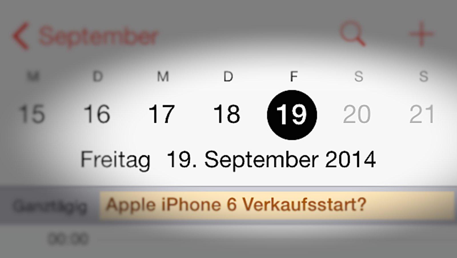 Telekom: iPhone 6 Verkaufsstart - Termin steht fest? 1