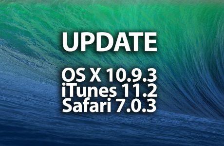 UPDATE: OS X Mavericks 10.9.3 mit iTunes 11.2 & Safari 7.0.3 (Download) 5
