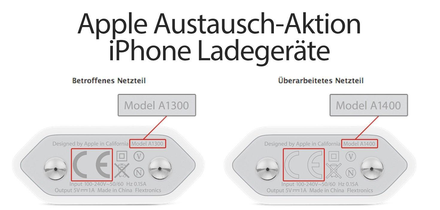 Wichtig: Apple Austausch iPhone Netzteile / Akku-Ladegeräte! 1