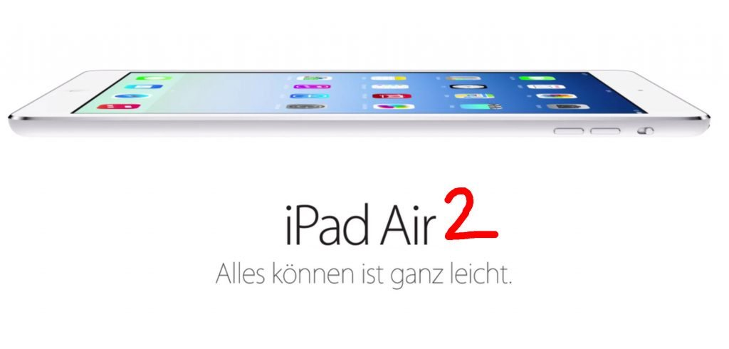 Apple Event am 21.10.2014 – iPad Air 2, Retina iMac, Apple TV 4?
