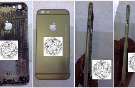 iPhone 6 Fotos: leuchtendes Apple Logo beim neuen iPhone? 8