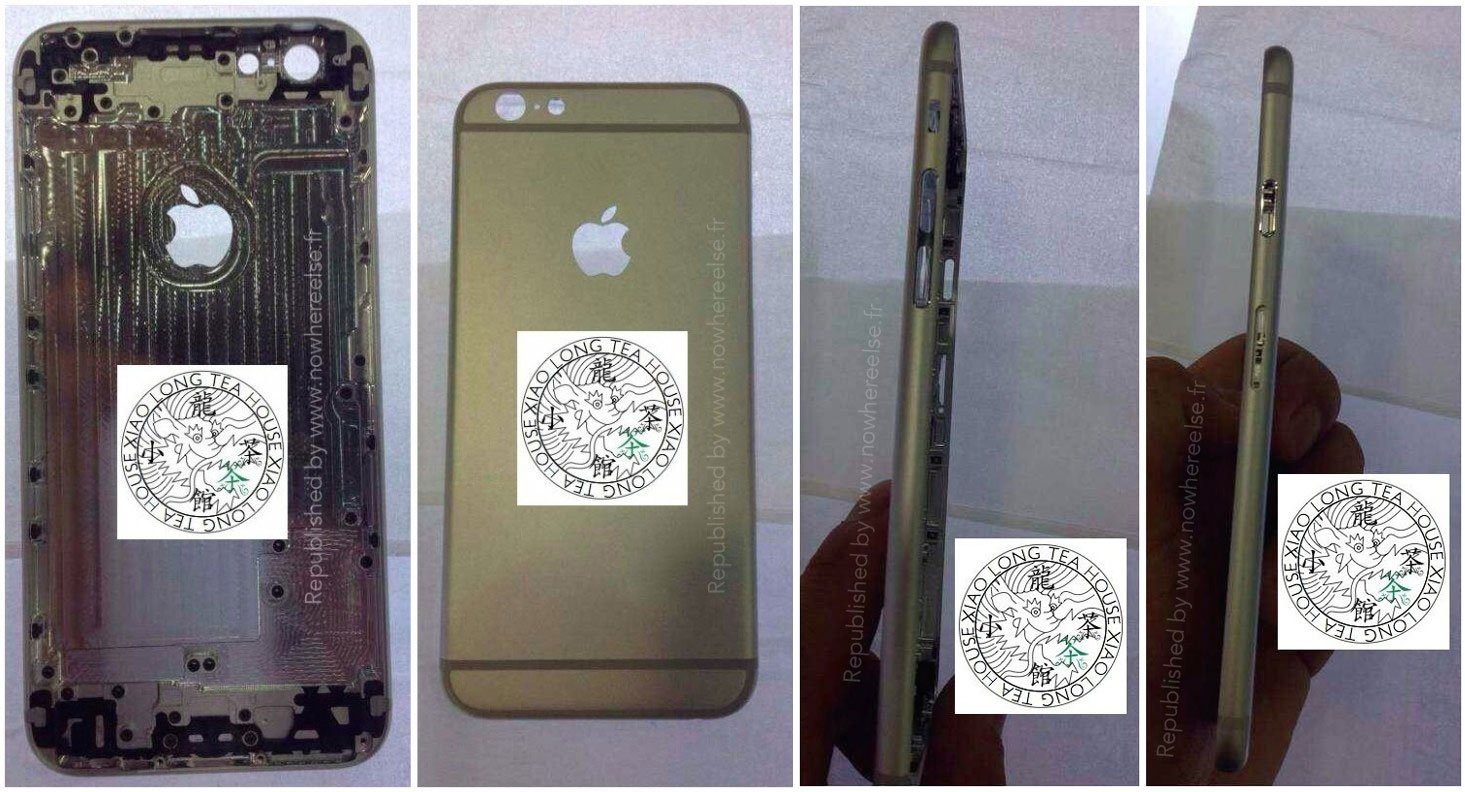 iPhone 6 Fotos: leuchtendes Apple Logo beim neuen iPhone? 8