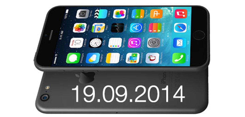 iPhone 6 ab 19. September erhältlich 1