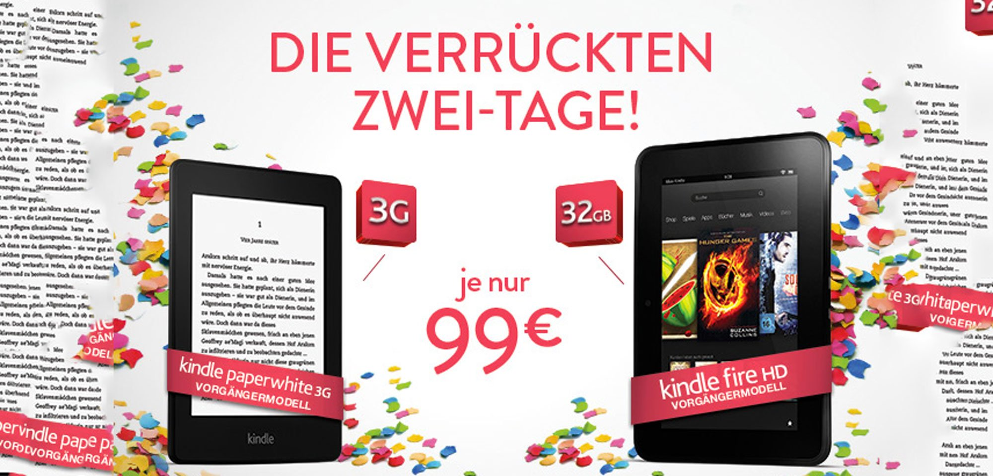 Kindle Aktion: Kindle Paperwhite 3G & Kindle Fire HD billiger (NUR NOCH HEUTE!) 9