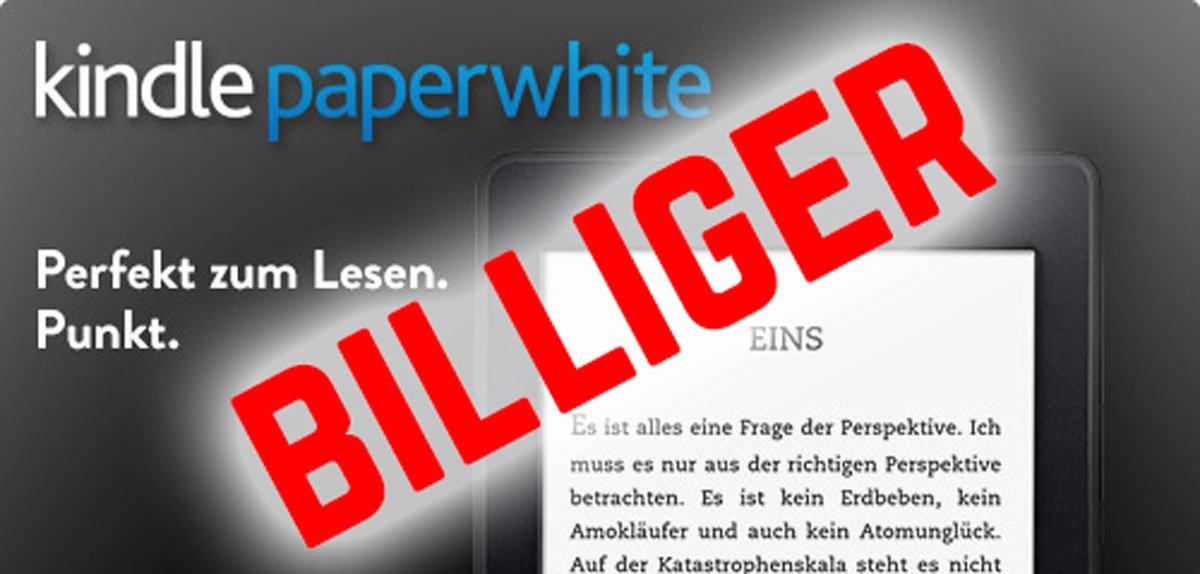 Kindle Paperwhite 2 billiger: Der neue Paperwhite jetzt günstiger 1
