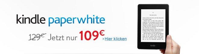 Kindle Paperwhite cheaper 2: The new White Paper now cheaper paperwhite2