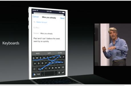 iOS 8 Tastaturen: Swype, Swiftkey, Fleksy fürs iPhone 3