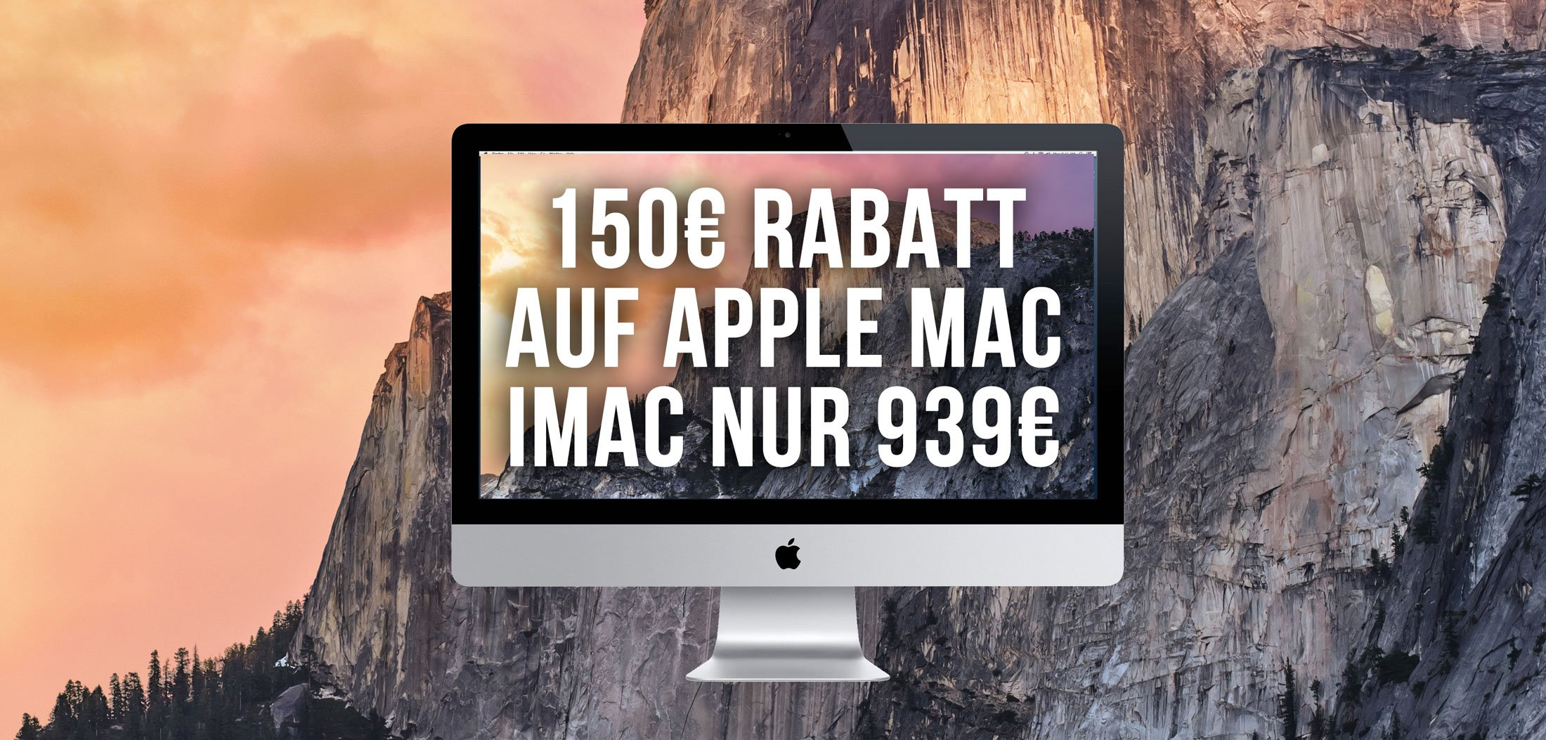 Macbooks & iMacs billiger: MacTrade Apfeleimer Rabatt Aktion (Update) 2
